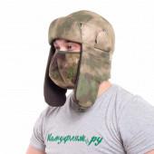 Шапка-ушанка Keotica Шугун Active мембрана A-Tacs FG, маска A-Tacs FG