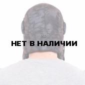 Шапка-ушанка Keotica Шугун мембрана питон черный
