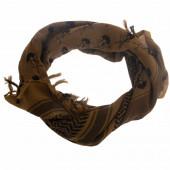 Шемаг VoenPro с черепами coyote/черный