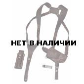 Кобура ХСН «Патруль-двухплечевая» скоба оперативная горизонтальная ПМ (IV)