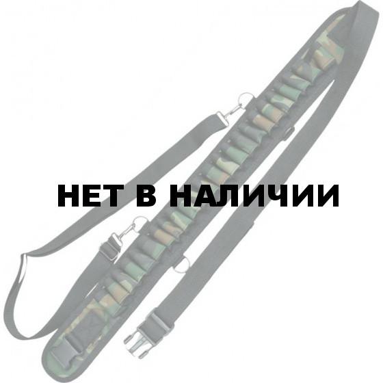 Патронташ ХСН К-12 24 патрона открытый (камуфляж)
