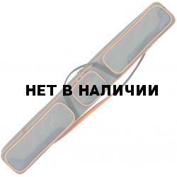 Чехол-сумка ХСН для рыболовных снастей 3-секционный (145 см полужесткий)
