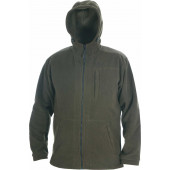 Куртка ХСН с капюшоном флис (хаки)