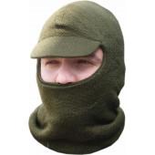 Шлем-маска ХСН Лыжная с козырьком (оливковая)