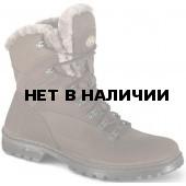 Ботинки ХСН Коккер натуральный мех коричневые