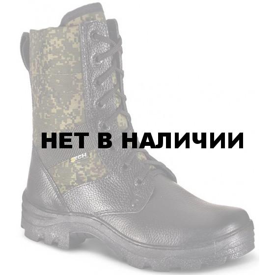 Ботинки ХСН Охрана облегчённые черные/цифра РФ