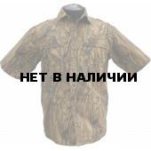 Рубашка ХСН с коротким рукавом (лес)