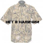 Рубашка ХСН с коротким рукавом (камыш)
