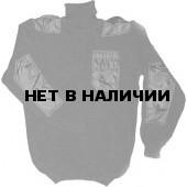Свитер ХСН «Кольчуга» 3 нити (черный)