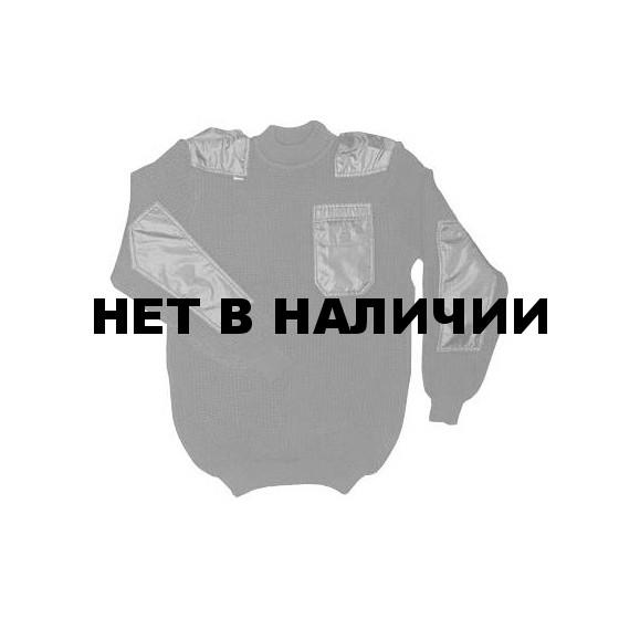 Джемпер ХСН «Кольчуга» 3 нити (черный)