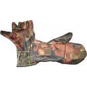 Варежки-перчатки ХСН windblock (лес)