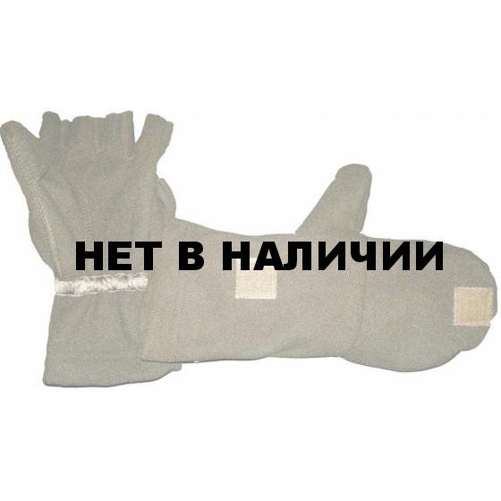 Варежки-перчатки ХСН windblock (хаки)