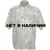 Рубашка ХСН с коротким рукавом «Бриз» (осока)
