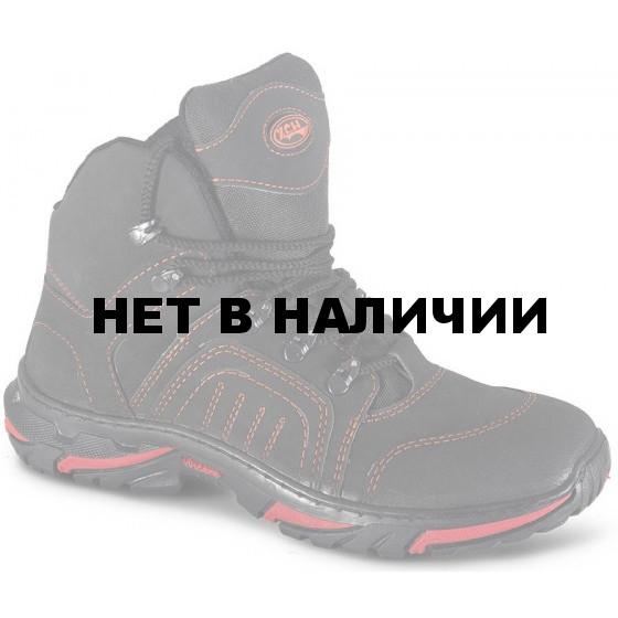 Ботинки ХСН Страйкер натуральный мех черные