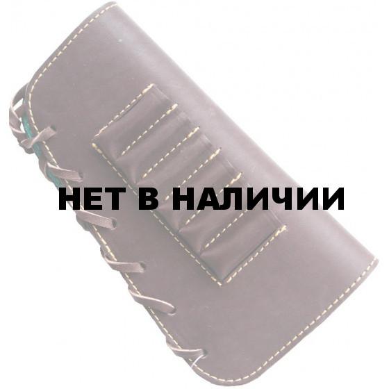 Патронташ ХСН на приклад для левшей к-7,62(9,3) 6 патронов (IV)