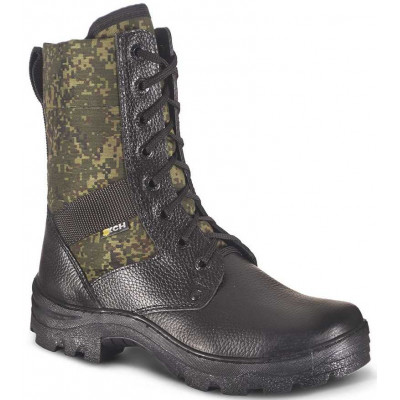 Ботинки ХСН Охрана облегченные камбрель черные/цифра РФ