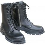 Ботинки ХСН Летные на молнии камбрель черные