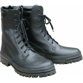 Ботинки ХСН Охрана кожа кирза черные