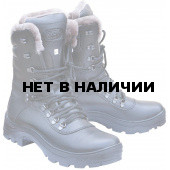 Ботинки ХСН Саяны натуральный мех черные