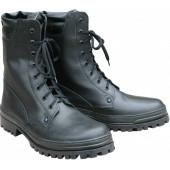 Ботинки ХСН «Охрана Лето» комбинированные кожа кирза черные