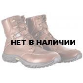 Ботинки ХСН Патриот натуральный мех коричневые