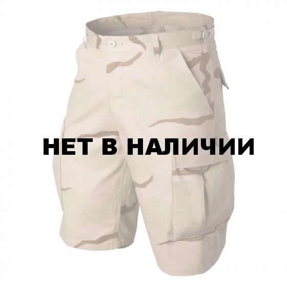 Шорты Helikon-Tex BDU 100% хлопок рип-стоп 3 color desert