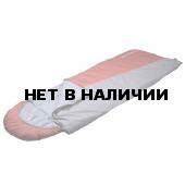 Спальный мешок Аляска-Expert Huntsman с капюшоном, ткань Duspo, -10°С, цвет – Серый/Терракотовый