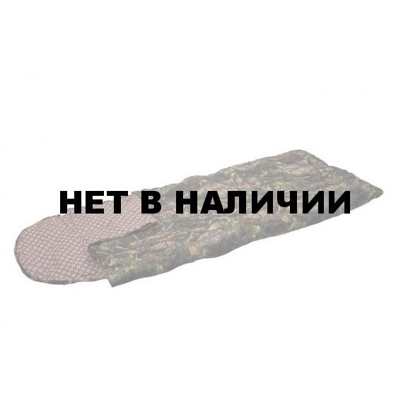 Спальный мешок-одеяло Аляска Huntsman, Таффета, 0°С, цвет – Лес