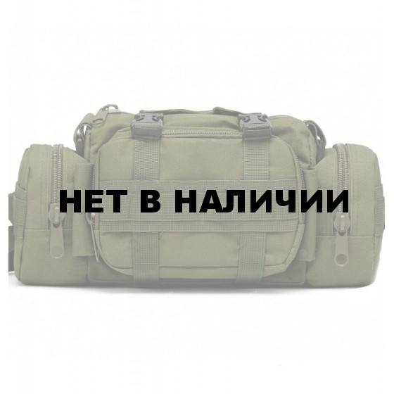 Сумка Tactical PRO Schultertertragetasche на пояс/плечо олива