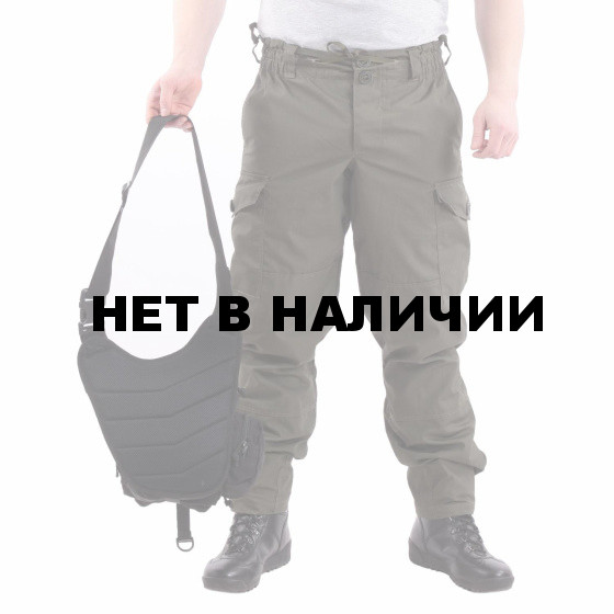 Сумка KE Tactical на плечо Sturm 4.5 литра Polyamide 500 Den черная