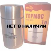Термос Tramp с широким горлом 1 л, нержавеющая сталь