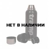 Термос Tramp 750 мл, нержавеющая сталь 18/8, черный
