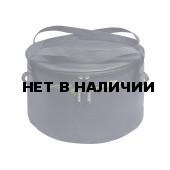 Ведро Aquatic В-06С герметичное с крышкой для замешивания корма 20 литров синее