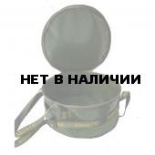 Ведро Aquatic В-03 для замешивания прикормки, ПВХ, с крышкой, диаметр 42 см, высота 20 см