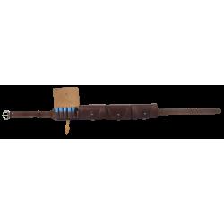 Патронташ Holster закрытый 16к кожа коричневый