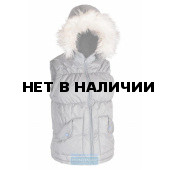 Жилет Дакота Huntsman женский, утепленный, ткань Taslan, цвет - серый