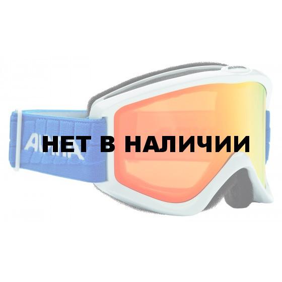 Очки горнолыжные Alpina SMASH 2.0 R MM white-blue