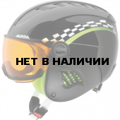 Зимний Шлем Alpina CARAT VISOR black-green