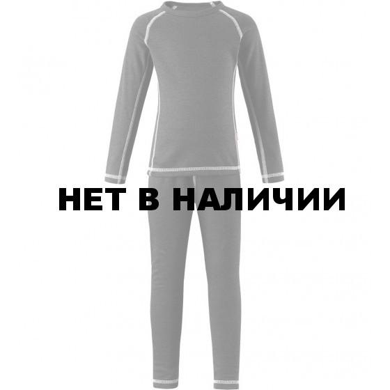 Комплект (футболка, длинный рукав, + брюки) Reima 2017-18 Lani Sparrow grey
