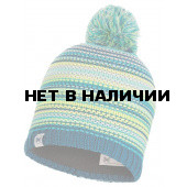 Шапка BUFF JR KNITTED & POLAR HAT AMITY TURQUOISE JR