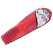 Спальник Deuter 2016-17 Sleeping Bags Orbit 0 L (прав) fire-cranberry