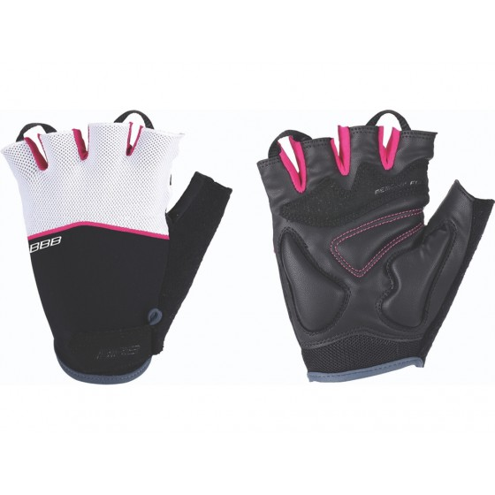 Перчатки велосипедные BBB Omnium black/whiteagenta (BBW-47)
