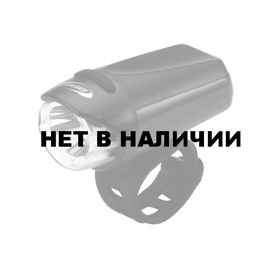 Фонарь передний BBB EcoBeam 0.2W with strap 3x AAA black/black (BLS-75)