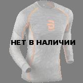 Футболка с длинным рукавомом Bjorn Daehlie 2017-18 Shirt Airnet Shocking Orange