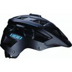 Велошлем BBB 2018 Nanga черный матовый/синий (US:M)
