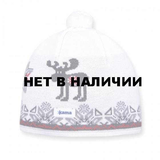Шапка Kama A78 white