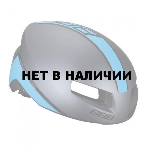 Велошлем BBB 2018 Tithon серый матовый/синий