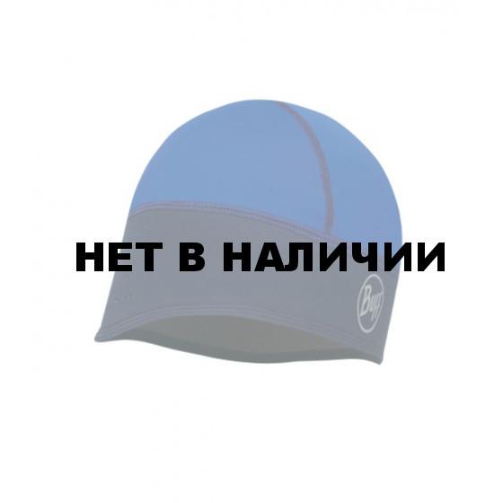 Шапка BUFF WINDPROOF TECH FLEECE HAT BUF F SOLID BLUE