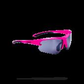 Очки солнцезащитные BBB 2018 Impulse small PC Smoke flash mirror lenses неоновый, розовый черный
