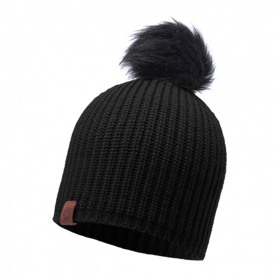 Шапка BUFF KNITTED HAT ADALWOLF BLACK (US:one size)